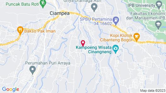 Kampoeng Wisata Rumah Joglo - Campsite Map