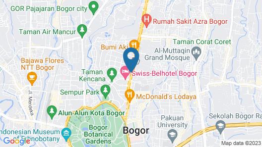 ibis Styles Bogor Pajajaran Map