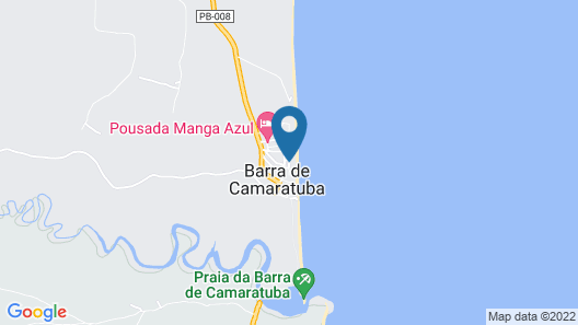 Pousada Potiguara Map