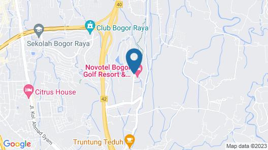Novotel Bogor Golf Resort & Convention Center Map