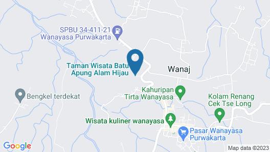 RedDoorz Resort Syariah @ Batu Apung Purwakarta Map