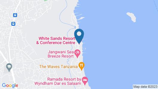 Azure Boutique Resort Map