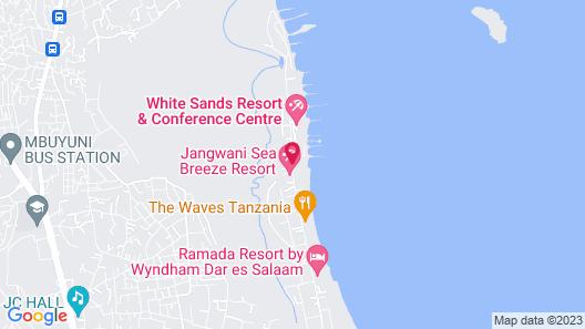 LandMark Mbezi Beach Resort Map