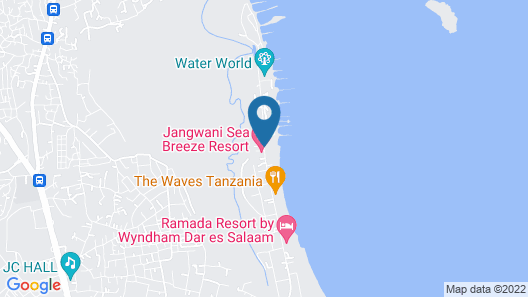 Jangwani Sea Breeze Resort Map