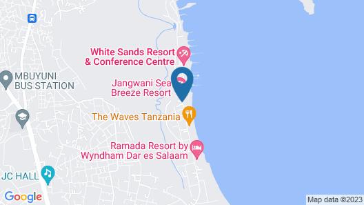 Ramada Resort by Wyndham Dar es Salaam Map
