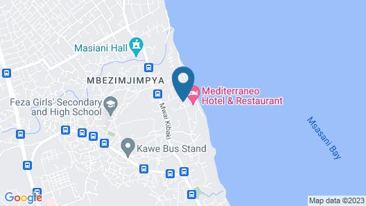 Mediterraneo Hotel & Restaurant Map