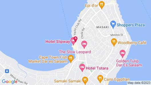 Hotel Slipway Map