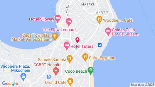 Azure Villas Map
