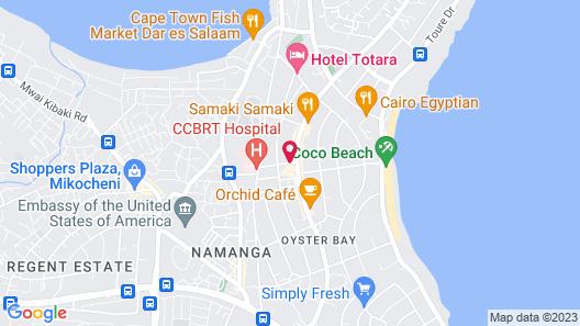 Q-Bar & Guest House Map