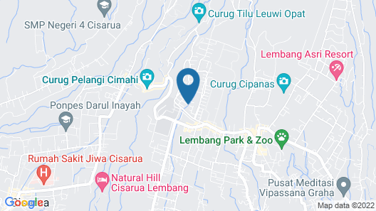 De Villa Istana Bunga by HouseinBandung Map