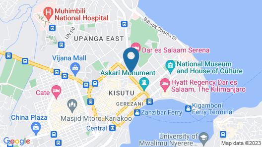 YWCA Hostel Map