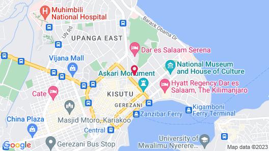 Onomo Hotel Dar es Salaam Map