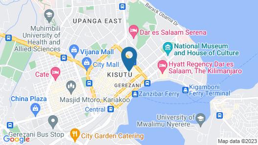 Golden Tulip Dar Es Salaam City Center Hotel Map