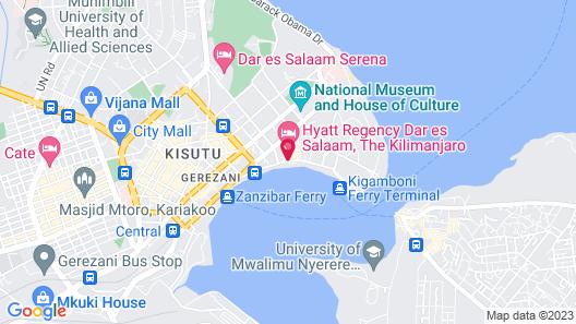 Hyatt Regency Dar Es Salaam, The Kilimanjaro Map