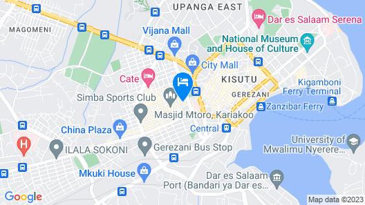 Sleep Inn Hotel Kariakoo Map