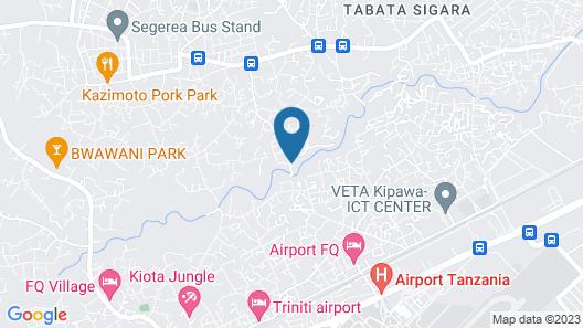 Hotreef Hotel Map