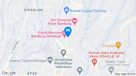 Grand Mercure Bandung Setiabudi Map