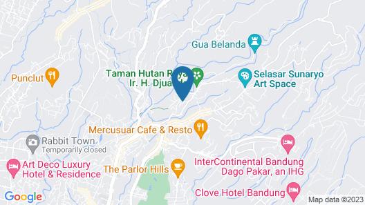 Marbella Suites Bandung Map
