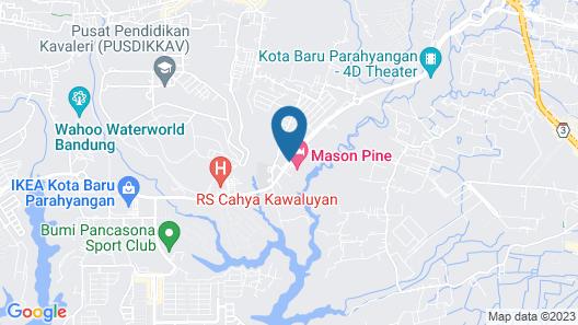 Mason Pine Hotel, Bandung Map