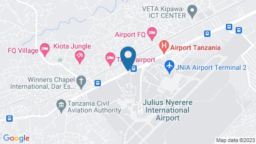B10 Airport Lodge Map