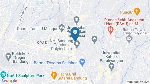 Banana Inn by KAGUM Hotels Map