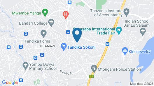 Familiär Geführtes Gästehaus - Kilongawima Street Map