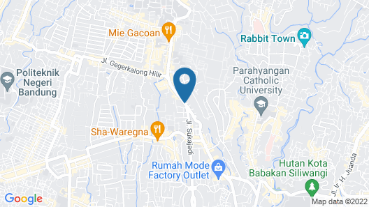 Amaris Hotel Setiabudhi Map