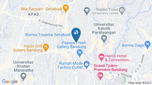 Grand Setiabudi Hotel Map