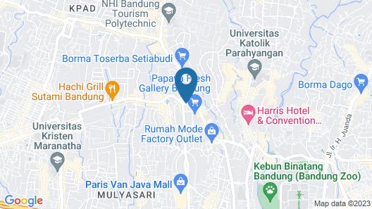 Gumilang Regency Hotel By Gumilang Hospitality Map
