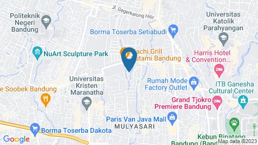 Ahadiat Hotel & Bungalow Map