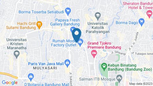 Villa Damar Map