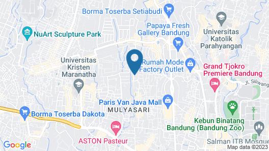 Kuldesak Villas Map