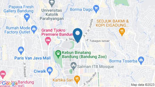 Kalya Hotel Bandung Map