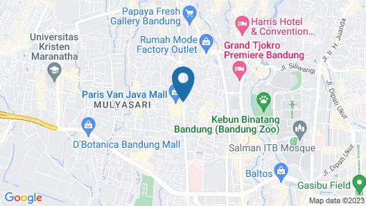 de JAVA Hotel Map