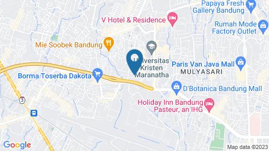 Cassadua Hotel Map