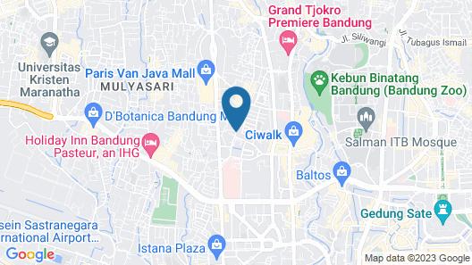 Arwiga Hotel Map
