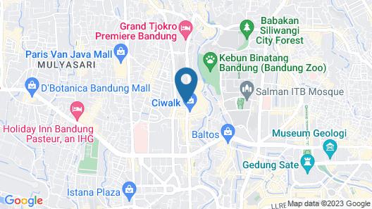 Puma Hotel Map