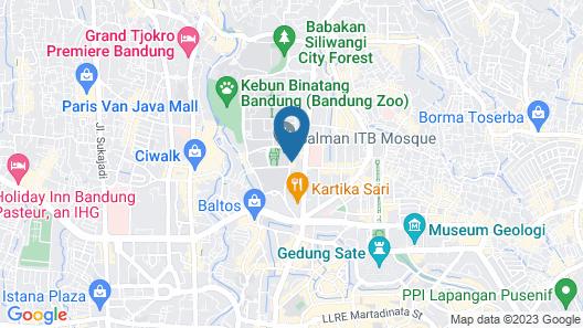RedDoorz near Institut Teknologi Bandung 2 Map