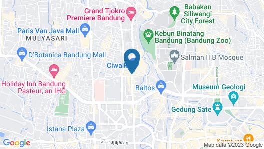 Vio Cihampelas Map