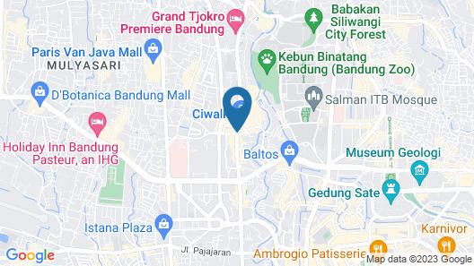 Amaris Hotel Cihampelas Bandung Map
