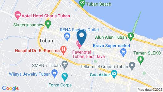 favehotel Tuban Map