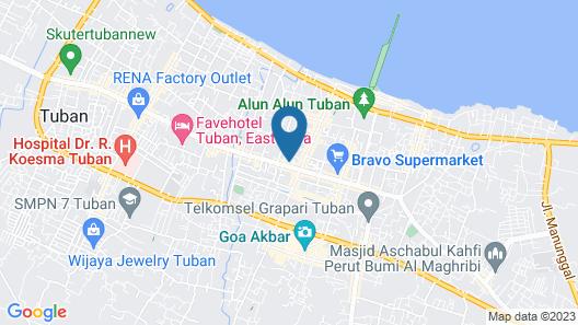 Oyo 1232 Hotel Basra Map