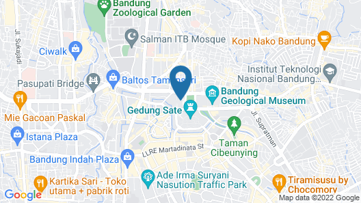 Pullman Bandung Grand Central Map