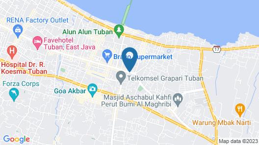 Resor Tuban Tropis Map