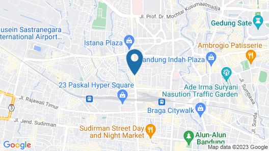Hotel Citradream Bandung Map