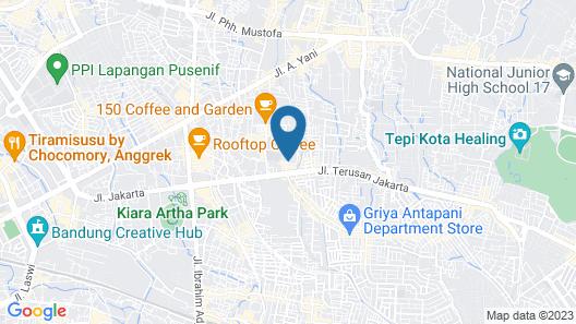Alqueby Hotel Map