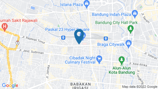 favehotel Hyper Square Map