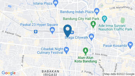 Gino Feruci Kebonjati Map