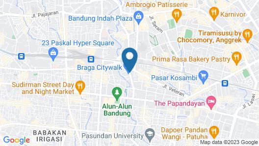 favehotel Braga Map