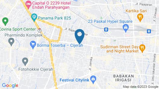 Capital O 2218 Sudirman Suites Map